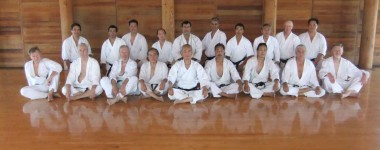 Yodan and Godan Practice 2010 at Shotokan Ohshima Dojo