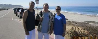 San Diego Beach Practice led by Jim Hernandez