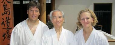 Shodan practice as Shotokan Ohshima Dojo 2011