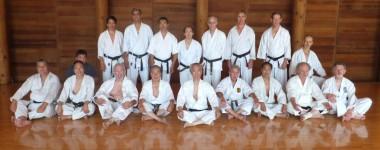 Godan Practice at Ohshima Dojo 2011