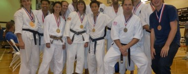 Lake Forest Shotokan Nisei Week Participation